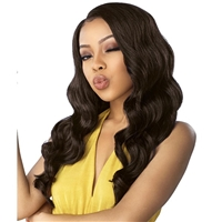 Glamourtress, wigs, weaves, braids, half wigs, full cap, hair, lace front, hair extension, nicki minaj style, Brazilian hair, crochet, hairdo, wig tape, remy hair, Lace Front Wigs, Remy Hair, Sensationnel Synthetic Dashly Lace Front Wig - UNIT4