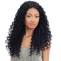 Glamourtress, wigs, weaves, braids, half wigs, full cap, hair, lace front, hair extension, nicki minaj style, Brazilian hair, crochet, hairdo, wig tape, remy hair, Lace Front Wigs,Freetress Equal Synthetic Freedom Part Lace Part Wig - 302