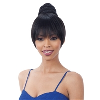 Glamourtress, wigs, weaves, braids, half wigs, full cap, hair, lace front, hair extension, nicki minaj style, Brazilian hair, crochet, hairdo, wig tape, remy hair, Lace Front Wigs, Remy Hair, Human Hair, Weaving Hair, Freetress Synthetic Bun Swirl Bang
