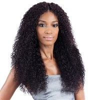 Glamourtress, wigs, weaves, braids, half wigs, full cap, hair, lace front, hair extension, nicki minaj style, Brazilian hair, crochet, hairdo, wig tape, remy hair, Lace Front Wigs, Remy Hair, Human , Unprocessed Naked Nature Wet & Wavy Bohemian Curl 7CS
