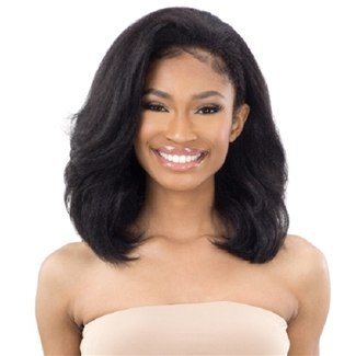 Glamourtress, wigs, weaves, braids, half wigs, full cap, hair, lace front, hair extension, nicki minaj style, Brazilian hair, crochet, hairdo, wig tape, remy hair, Freetress Equal Synthetic Half Wig - DRAWSTRING FULLCAP - NATURAL ROLLER SET