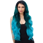 Glamourtress, wigs, weaves, braids, half wigs, full cap, hair, lace front, hair extension, nicki minaj style, Brazilian hair, crochet, hairdo, wig tape, remy hair, Lace Front Wigs, Freetress Equal Synthetic Premium Delux Lace Front Wig - ALY 30
