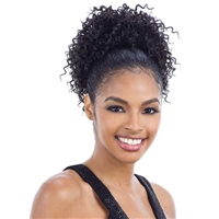 Glamourtress, wigs, weaves, braids, half wigs, full cap, hair, lace front, hair extension, nicki minaj style, Brazilian hair, crochet, hairdo, wig tape, remy hair, Lace Front Wigs, Remy Hair, Freetress Equal Synthetic Pony Pop Ponytail - BELL
