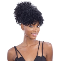 Glamourtress, wigs, weaves, braids, half wigs, full cap, hair, lace front, hair extension, nicki minaj style, Brazilian hair, crochet, hairdo, wig tape, remy hair, Lace Front Wigs, Remy Hair, Freetress Equal Synthetic Pony Pop Ponytail - BOBO