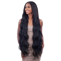 Glamourtress, wigs, weaves, braids, half wigs, full cap, hair, lace front, hair extension, nicki minaj style, Brazilian hair, crochet, hairdo, wig tape, remy hair, Lace Front Wigs, Remy Hair, Shake-N-Go Organique Mastermix Weave - BODY WAVE 24""