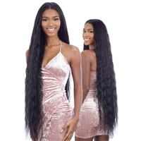 Glamourtress, wigs, weaves, braids, half wigs, full cap, hair, lace front, hair extension, nicki minaj style, Brazilian hair, crochet, hairdo, wig tape, remy hair, Lace Front Wigs, Remy Hair, Shake-N-Go Organique Mastermix Weave - FRENCH WAVE 36""