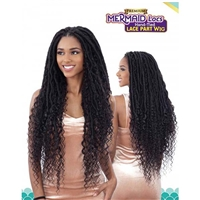 Glamourtress, wigs, weaves, braids, half wigs, full cap, hair, lace front, hair extension, nicki minaj style, Brazilian hair, crochet, hairdo, wig tape, remy hair, Freetress Equal Premium Hand-Tied Lace Part Wig Mermaid Locs