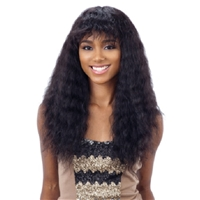 Glamourtress, wigs, weaves, braids, half wigs, full cap, hair, lace front, hair extension, nicki minaj style, Brazilian hair, crochet, hairdo, wig tape, remy hair, Lace Front Wigs, Remy Hair, Naked Brazilian Natural Human Hair Lace Front Wig Wet & Wavy De