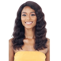 Glamourtress, wigs, weaves, braids, half wigs, full cap, hair, lace front, hair extension, nicki minaj style, Brazilian hair, hairdo, wig tape, remy hair, Lace Front Wigs, Shake N Go Naked Nature Brazilian 100% Human Hair Premium Lace Front Wig - LENNIE
