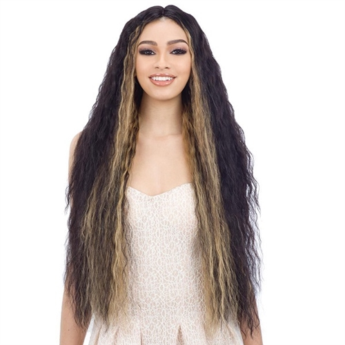 Shake-N-Go Naked 100% Human Hair Freedom 5 Lace Part Wig