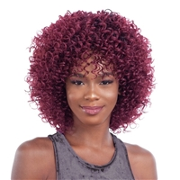 Glamourtress, wigs, weaves, braids, half wigs, full cap, hair, lace front, hair extension, nicki minaj style, Brazilian hair, crochet, hairdo, wig tape, remy hair, Lace Front Wigs, Remy Hair, Shake N Go Organique Mastermix Weave - BOUNCY BEACH 5PCS