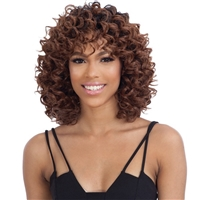 Glamourtress, wigs, weaves, braids, half wigs, full cap, hair, lace front, hair extension, nicki minaj style, Brazilian hair, crochet, hairdo, wig tape, remy hair, Lace Front Wigs, Remy Hair, Shake N Go Organique Mastermix Weave - BOUNCY DEEP 5PCS