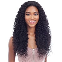 Glamourtress, wigs, weaves, braids, half wigs, full cap, hair, lace front, hair extension, nicki minaj style, Brazilian hair, crochet, hairdo, wig tape, remy hair, Lace Front Wigs, Remy Hair, Shake-N-Go Organique Mastermix Weave - MAUI CURL 3PCS 14/16/18