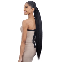 Glamourtress, wigs, weaves, braids, half wigs, full cap, hair, lace front, hair extension, nicki minaj style, Brazilian hair, crochet, hairdo, wig tape, remy hair, Lace Front Wigs, Shake-N-Go Synthetic Organique Pony Pro Ponytail - NATURAL YAKY 32""