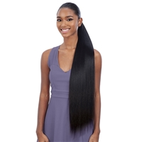 Glamourtress, wigs, weaves, braids, half wigs, full cap, hair, lace front, hair extension, nicki minaj style, Brazilian hair, crochet, hairdo, wig tape, remy hair, Lace Front Wigs, Shake-N-Go Synthetic Organique Pony Pro Ponytail - STRAIGHT YAKY 32""