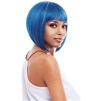 Glamourtress, wigs, weaves, braids, half wigs, full cap, hair, lace front, hair extension, nicki minaj style, Brazilian hair, crochet, hairdo, wig tape, remy hair, Lace Front Wigs, Remy Hair,Vanessa Synthetic Full Wig SMART V NIKIO