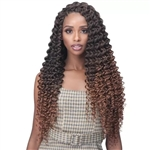 Glamourtress, wigs, weaves, braids, half wigs, full cap, hair, lace front, hair extension, nicki minaj style, Brazilian hair, crochet, hairdo, wig tape, remy hair, Lace Front Wigs, Bobbi Boss African Roots Crochet Braid - 2X BRAZILIAN DEEP CURL 20