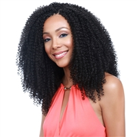 Glamourtress, wigs, weaves, braids, half wigs, full cap, hair, lace front, hair extension, nicki minaj style, Brazilian hair, crochet, hairdo, wig tape, remy hair, Lace Front Wigs, Remy Hair, Bobbi Boss African Roots Crochet Braid Kinky Curl 12""
