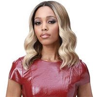 Glamourtress, wigs, weaves, braids, half wigs, full cap, hair, lace front, hair extension, nicki minaj style, Brazilian hair, crochet, hairdo, wig tape, remy hair, Lace Front Wigs,Bobbi Boss Synthetic Hair 5 inch Deep Part Lace Front Wig - MLF390 AMBER
