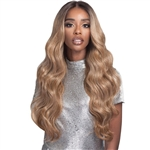Glamourtress, wigs, weaves, braids, half wigs, full cap, hair, lace front, hair extension, nicki minaj style, Brazilian hair, crochet, hairdo, wig tape, remy hair, Lace Front Wigs, Bobbi Boss Human Hair Blend 13X4 Swiss Lace Front Wig - MBLF190 CARMELA