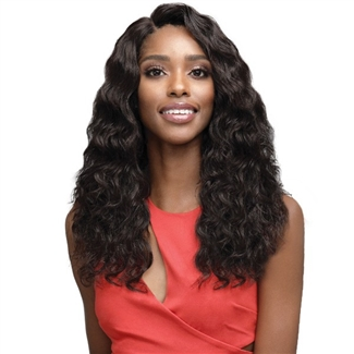 Glamourtress, wigs, weaves, braids, half wigs, full cap, hair, lace front, hair extension, nicki minaj style, Brazilian hair, crochet, hairdo, wig tape, remy hair, Lace Front Wigs, Bobbi Boss 100% Human Hair 4.5 Deep Part Lace Front Wig - MHLF904 KIMORA