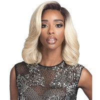 Glamourtress, wigs, weaves, braids, half wigs, full cap, hair, lace front, hair extension, nicki minaj style, Brazilian hair, crochet, hairdo, wig tape, remy hair, Lace Front Wigs, Bobbi Boss Synthetic Hair 5 inch Deep Part Lace Front Wig - MLF336 KIRSTEN