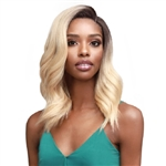 Glamourtress, wigs, weaves, braids, half wigs, full cap, hair, lace front, hair extension, nicki minaj style, Brazilian hair, crochet, hairdo, wig tape, remy hair, Lace Front Wigs, Bobbi Boss Synthetic Hair 5 inch Deep Part Lace Front Wig - MLF365 VALENCI