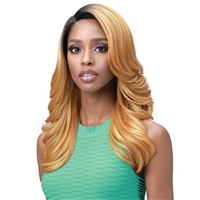 Glamourtress, wigs, weaves, braids, half wigs, full cap, hair, lace front, hair extension, nicki minaj style, Brazilian hair, crochet, hairdo, wig tape, remy hair, Lace Front Wigs, Bobbi Boss Premium Synthetic Truly Me Lace Front Wig - MLF502 AILEEN