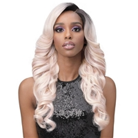 Glamourtress, wigs, weaves, braids, half wigs, full cap, hair, lace front, hair extension, nicki minaj style, Brazilian hair, crochet, hairdo, wig tape, remy hair, Lace Front Wigs, Bobbi Boss Premium Synthetic Truly Me Lace Front Wig - MLF506 MONICA