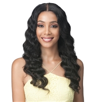 Glamourtress, wigs, weaves, braids, half wigs, full cap, hair, lace front, hair extension, nicki minaj style, Brazilian hair, wig tape, remy hair, Lace Front Wigs, Bobbi Boss 100% Unprocessed Virgin Remy 13X4 Lace Front Wig - MHLF509 OCEAN WAVE 24