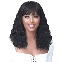 Glamourtress, wigs, weaves, braids, half wigs, full cap, hair, lace front, hair extension, nicki minaj style, Brazilian hair, crochet, hairdo, wig tape, remy hair, Lace Front Wigs, Remy Hair, Bobbi Boss 100% Human Hair Wig - MH1292 LAVONE