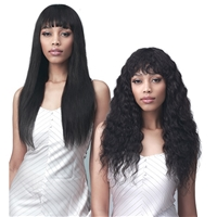 Glamourtress, wigs, weaves, braids, half wigs, full cap, hair, lace front, hair extension, nicki minaj style, Brazilian hair, crochet, hairdo, wig tape, remy hair, Lace Front Wigs, Remy Hair, Bobbi Boss 100% Human Hair Wet & Wavy Wig - MH1297 TONINA