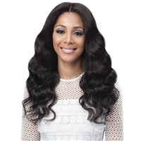 Glamourtress, wigs, weaves, braids, half wigs, full cap, hair, lace front, hair extension, nicki minaj style, Brazilian hair, crochet, wig tape, remy hair, Lace Front Wigs, Bobbi Boss 100% Unprocessed Remy Bundle Hair Full Lace Wig - OCEAN WAVE 24