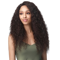 Glamourtress, wigs, weaves, braids, half wigs, full cap, hair, lace front, hair extension, nicki minaj style, Brazilian hair, crochet, wig tape, remy hair, Bobbi Boss 100% Unprocessed Human Hair 13X4 HD 360 Lace Frontal Wig - MHLF517 SALMA