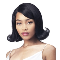 Glamourtress, wigs, weaves, braids, half wigs, full cap, hair, lace front, hair extension, nicki minaj style, Brazilian hair, crochet, wig tape, remy hair, Lace Front Wigs, Bobbi Boss 100% Unprocessed Human Hair Lace Front Wig - MHLF541 CHARLEE
