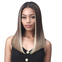 Glamourtress, wigs, weaves, braids, half wigs, full cap, hair, lace front, hair extension, nicki minaj style, Brazilian hair, crochet, wig tape, remy hair, Lace Front Wigs, Bobbi Boss 13x4 Synthetic Deep Lace Front Wig - MLF233 AVRI