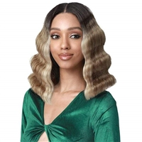 Glamourtress, wigs, weaves, braids, half wigs, full cap, hair, lace front, hair extension, nicki minaj style, Brazilian hair, crochet, wig tape, remy hair, Lace Front Wigs, Bobbi Boss MEDIFRESH Synthetic Lace Front Wig - MLF430 FAITH