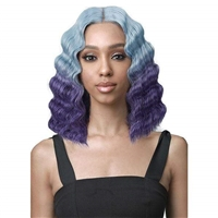 Glamourtress, wigs, weaves, braids, half wigs, full cap, hair, lace front, hair extension, nicki minaj style, Brazilian hair, crochet, wig tape, remy hair, Lace Front Wigs, Bobbi Boss MEDIFRESH Synthetic Lace Front Wig - MLF431 FELICITY