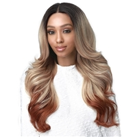 Glamourtress, wigs, weaves, braids, half wigs, full cap, hair, lace front, hair extension, nicki minaj style, Brazilian hair, crochet, wig tape, remy hair, Lace Front Wigs, Bobbi Boss MEDIFRESH Synthetic Lace Front Wig - MLF434 LORRAINE