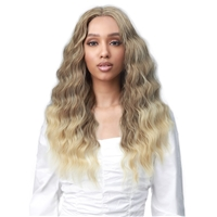 Glamourtress, wigs, weaves, braids, half wigs, full cap, hair, lace front, hair extension, nicki minaj style, Brazilian hair, crochet, wig tape, remy hair, Lace Front Wigs, Bobbi Boss MEDIFRESH Synthetic Lace Front Wig - MLF537 CERSEI