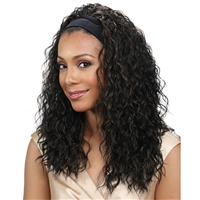 Glamourtress, wigs, weaves, braids, half wigs, full cap, hair, lace front, hair extension, nicki minaj style, Brazilian hair, crochet, hairdo, wig tape, remy hair, Lace Front Wigs, Remy Hair, Bobbi Boss Hairband Premium Synthetic Wig - M905W BADU-W