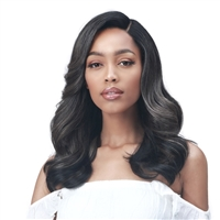 Glamourtress, wigs, weaves, braids, half wigs, full cap, hair, lace front, hair extension, nicki minaj style, Brazilian hair, crochet, hairdo, wig tape, remy hair, Lace Front Wigs, Bobbi Boss Synthetic HD Deep Lace Part Wig - MLF573 RAELA