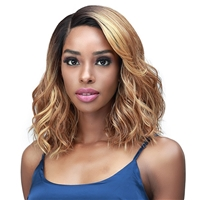 Glamourtress, wigs, weaves, braids, half wigs, full cap, hair, lace front, hair extension, nicki minaj style, Brazilian hair, crochet, hairdo, wig tape, remy hair, Lace Front Wigs, Bobbi Boss Synthetic HD Deep Lace Part Wig - MLF576 CALLIA