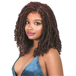 Glamourtress, wigs, weaves, braids, half wigs, full cap, lace front, hair extension, Brazilian hair, crochet, hairdo, wig tape, remy hair, Lace Front Wigs, Bohemian Natural Hairline Premium Braid Lace Wig - Bomb Twist