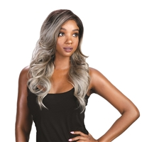 Glamourtress, wigs, weaves, braids, half wigs, full cap, lace front, hair extension, Brazilian hair, crochet, hairdo, wig tape, remy hair, Lace Front Wigs, Bohemian Brazilian Secret Premium Fiber 13X4 Hand Tied Melt Down Lace Wig - JULIANNE