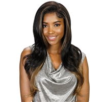 Glamourtress, wigs, weaves, braids, half wigs, full cap, lace front, hair extension, Brazilian hair, crochet, hairdo, wig tape, remy hair, Lace Front Wigs, Bohemian Natural Hairline Premium Melt Down Lace Wig - MDL Lauren