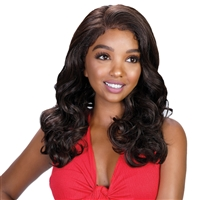 Glamourtress, wigs, weaves, braids, half wigs, full cap, lace front, hair extension, Brazilian hair, crochet, hairdo, wig tape, remy hair, Lace Front Wigs, Bohemian Natural Hairline Premium Melt Down Lace Wig - MDL Michelle