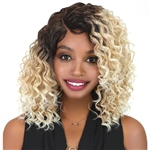 Glamourtress, wigs, weaves, braids, half wigs, full cap, lace front, hair extension, Brazilian hair, crochet, hairdo, wig tape, remy hair, Lace Front Wigs, Bohemian 100% Premium Synthetic Project 79 Lace Wig - LPW ERIKA