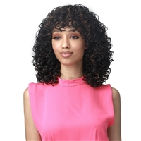 Glamourtress, wigs, weaves, braids, half wigs, full cap, hair, lace front, hair extension, nicki minaj style, Brazilian hair, crochet, hairdo, wig tape, remy hair, Lace Front Wigs, Remy Hair, Bobbi Boss Synthetic Hair Wig - M568 KINZIE