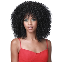 Glamourtress, wigs, weaves, braids, half wigs, full cap, hair, lace front, hair extension, nicki minaj style, Brazilian hair, crochet, hairdo, wig tape, remy hair, Lace Front Wigs, Remy Hair, Bobbi Boss Human Hair Blend Miss Origin Wig - MOG006 TINA